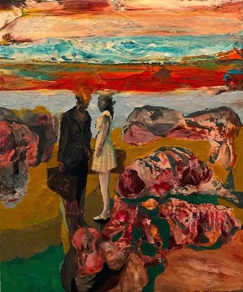 Obraz do salonu artysty Tomasz Tobolewski pod tytułem Lewiatan