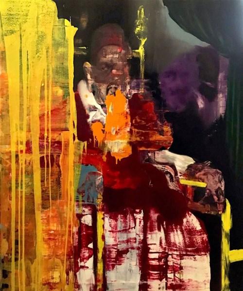 Obraz do salonu artysty Tomasz Tobolewski pod tytułem Widmo