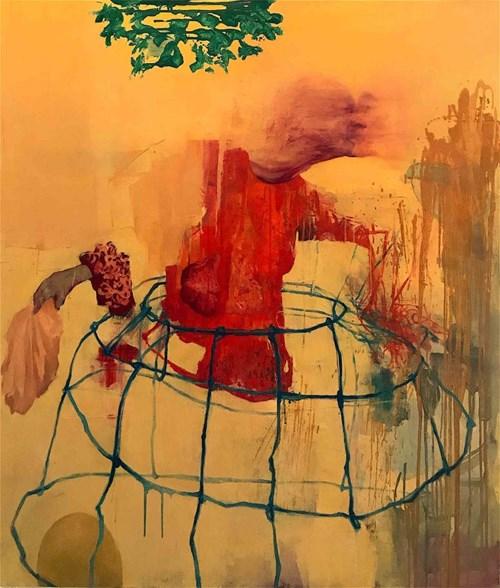 Obraz do salonu artysty Tomasz Tobolewski pod tytułem Pocałunek