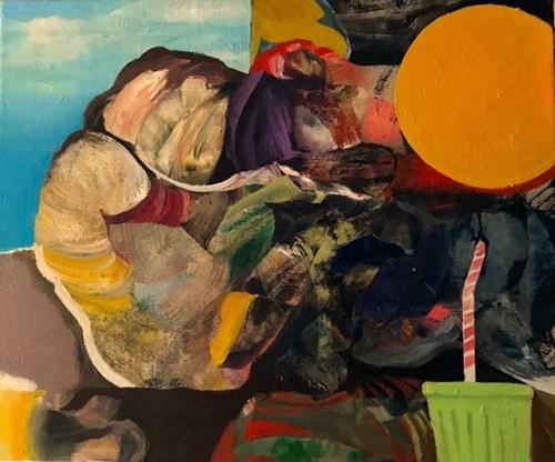 Obraz do salonu artysty Tomasz Tobolewski pod tytułem Zaległy urlop