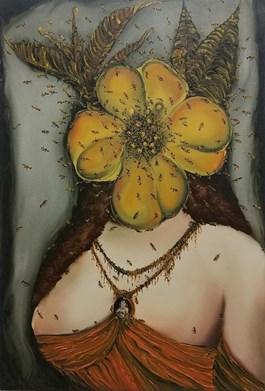 Obraz do salonu artysty Michał Jankowski pod tytułem Przynęta