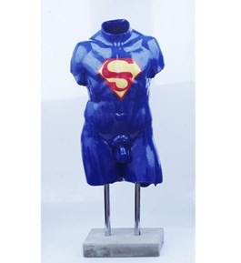 Obraz do salonu artysty Mariusz Dydo pod tytułem Superman z cyklu Fantomy