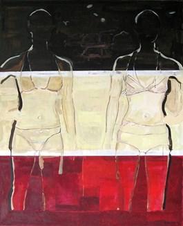 Obraz do salonu artysty Tomek Mazur pod tytułem Mannequins
