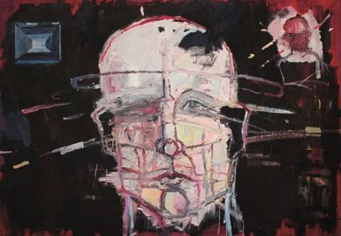 Obraz do salonu artysty Olek Myjak pod tytułem Bez tytułu