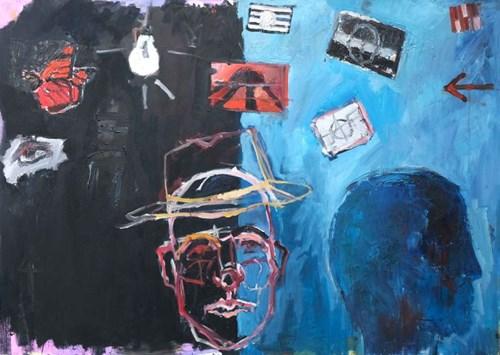 Obraz do salonu artysty Olek Myjak pod tytułem Kompozycja II