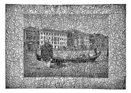 Grafika do salonu artysty Andrzej Dudek-Dürer pod tytułem Stojąc na wodzie
