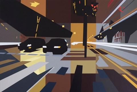 Obraz do salonu artysty Jakub Napieraj pod tytułem W zawieszeniu