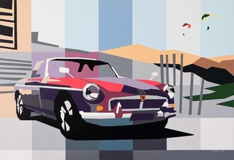 Obraz do salonu artysty Jakub Napieraj pod tytułem MG and Desert Sky