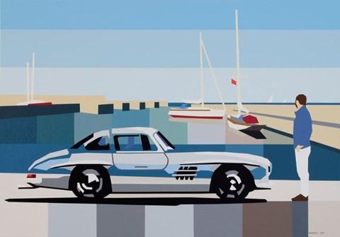 Obraz do salonu artysty Jakub Napieraj pod tytułem Śródziemnomorski