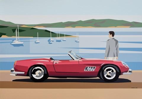 Obraz do salonu artysty Jakub Napieraj pod tytułem California Spyder