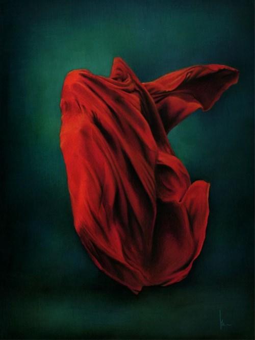 Obraz do salonu artysty Magdalena Muraszko-Kowalska pod tytułem Niosę ci ogień
