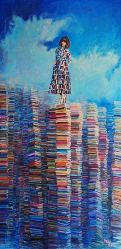 Obraz do salonu artysty Katarzyna Orońska pod tytułem Desiderium Coloris
