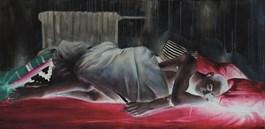 Obraz do salonu artysty Angelika Korzeniowska pod tytułem Śpiący Staś