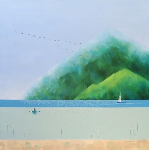 Obraz do salonu artysty Marta Bilecka pod tytułem Perfect Moment Before Noon 31