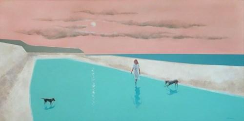 Obraz do salonu artysty Marta Bilecka pod tytułem Perfect Evening 4