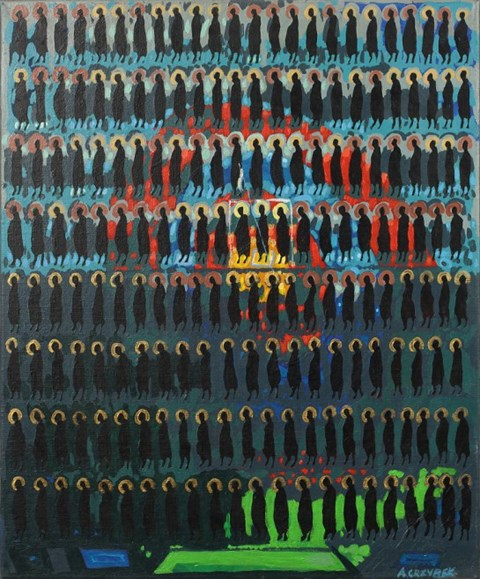 Obraz do salonu artysty Aleksander Grzybek pod tytułem Nadzieja