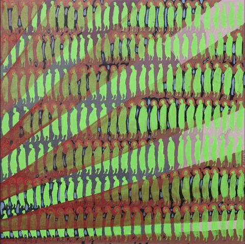Obraz do salonu artysty Aleksander Grzybek pod tytułem Sztuczne światło