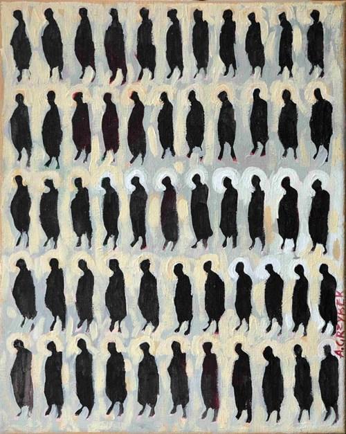 Obraz do salonu artysty Aleksander Grzybek pod tytułem Słoneczna zima