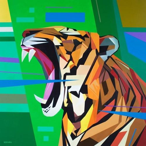 Obraz do salonu artysty Artur Marciniszyn pod tytułem Roarr