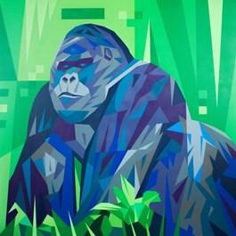 Obraz do salonu artysty Artur Marciniszyn pod tytułem Kong
