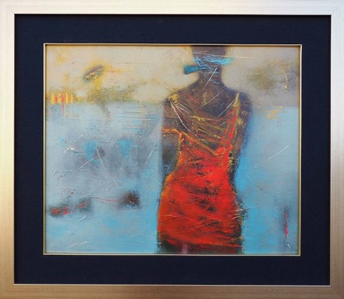 Obraz do salonu artysty Kaja Solecka pod tytułem Observation
