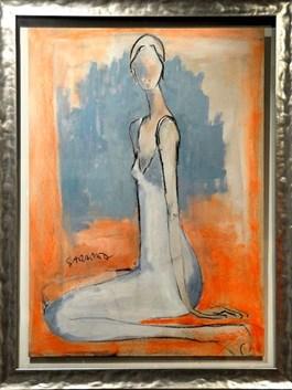 Obraz do salonu artysty Joanna Sarapata pod tytułem Akt zmysłowy