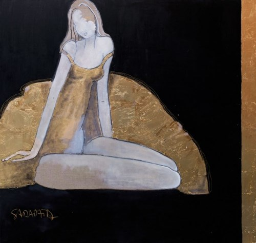 Obraz do salonu artysty Joanna Sarapata pod tytułem Ballerina