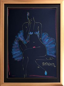 Obraz do salonu artysty Joanna Sarapata pod tytułem Dziewczyna
