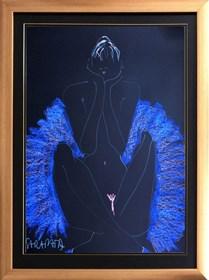 Obraz do salonu artysty Joanna Sarapata pod tytułem Akt - szkic 3