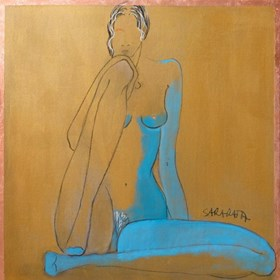 Obraz do salonu artysty Joanna Sarapata pod tytułem Akt w słońcu