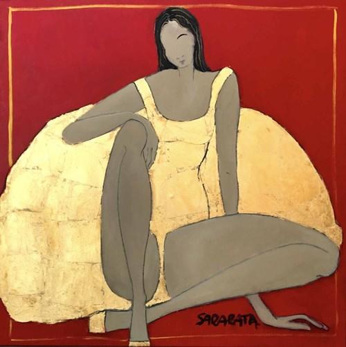 Obraz do salonu artysty Joanna Sarapata pod tytułem Ecole de Paris III