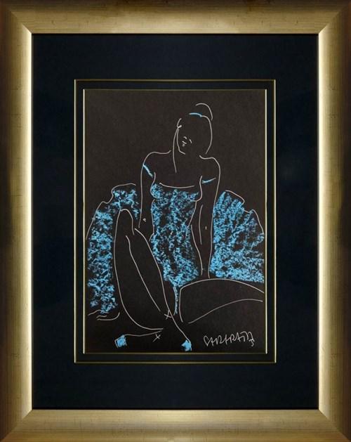 Obraz do salonu artysty Joanna Sarapata pod tytułem Ballerina - siedząca