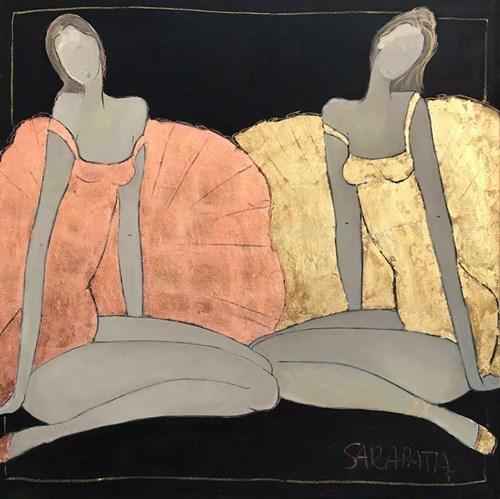 Obraz do salonu artysty Joanna Sarapata pod tytułem Dwie Balleriny