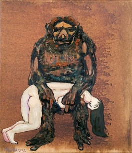 Obraz do salonu artysty Jacek Sroka pod tytułem Gestalt