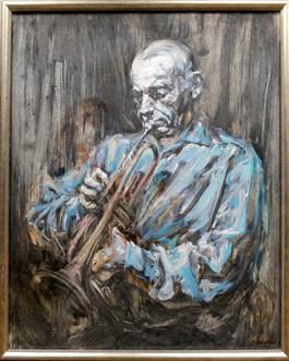 Obraz do salonu artysty Piotr Naliwajko pod tytułem Blue boy