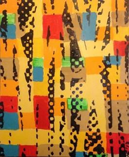 Obraz do salonu artysty Piotr Młodożeniec pod tytułem Kompozycja 23