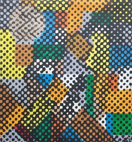 Obraz do salonu artysty Piotr Młodożeniec pod tytułem Stare - Nowe - Robot 2