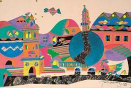 Obraz do salonu artysty Jan Kanty Pawluśkiewicz pod tytułem Via Venezia,