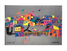 Obraz do salonu artysty Jan Kanty Pawluśkiewicz pod tytułem Architettura 2