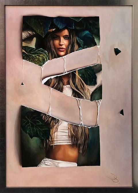 Obraz do salonu artysty Andrzej Sajewski pod tytułem To nie jest tak, jak wygląda