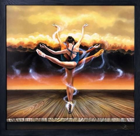 Obraz do salonu artysty Andrzej Sajewski pod tytułem Virtual Dance