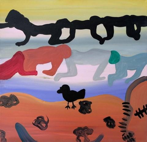 Obraz do salonu artysty Martyna Czech pod tytułem Błędne koło