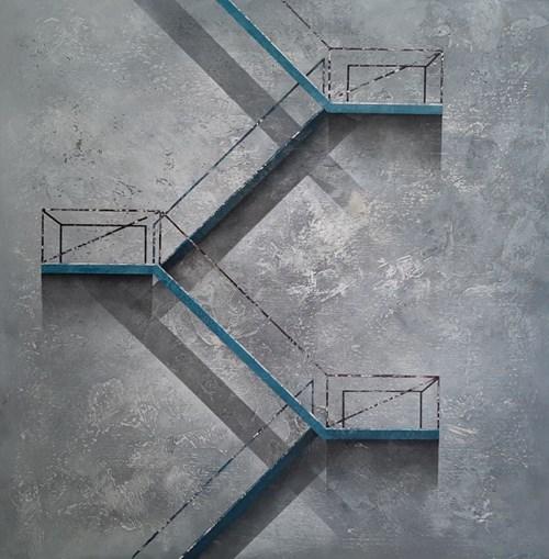 Obraz do salonu artysty Sonia Ruciak pod tytułem Kilka kroków