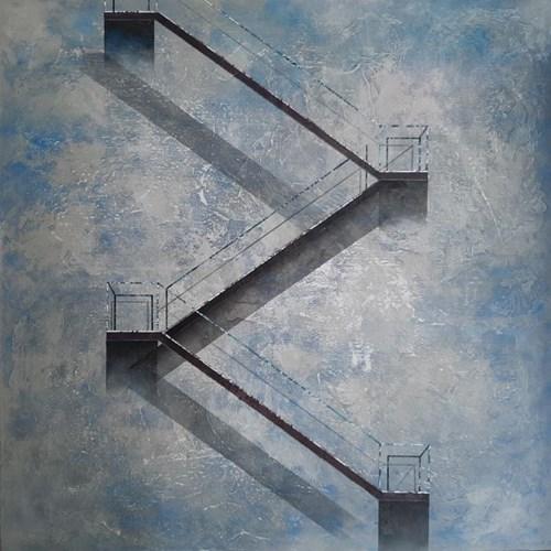 Obraz do salonu artysty Sonia Ruciak pod tytułem Co masz przed sobą