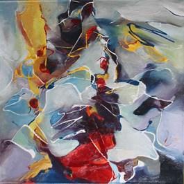Obraz do salonu artysty Roman Choinka pod tytułem W głębi siebie każdy z nas jest tym, czym zawsze był