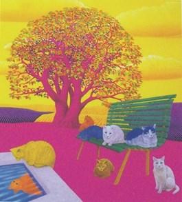 Obraz do salonu artysty Jakub Dominik pod tytułem Ławka