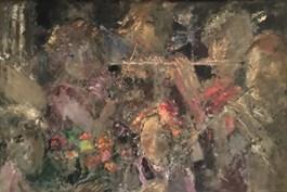 Obraz do salonu artysty Emil Polit pod tytułem Muzykanci