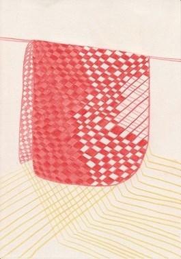 Obraz do salonu artysty Alicja Bielawska pod tytułem Rysunek z serii Wzory