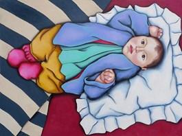 Obraz do salonu artysty Małgorzata Malinowska pod tytułem Ariel