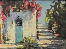 Obraz do salonu artysty Zbigniew Pieczyński pod tytułem Motyw grecki